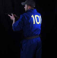Vault 101 Fallout Suit (irongategallery) Tags: costume fallout vaultdweller vault101