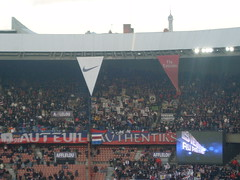 Authentiks lors de PSG 2-1 Sochaux (psgmag.net) Tags: supporters ultras psg parcdesprinces parissaintgermain tribunes