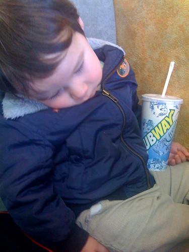 Subway, sleep fresh
