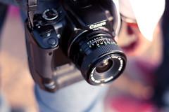 (✧S) Tags: canon vintage lens 50mm lulu bokeh cam f18 wado f12 orangeya