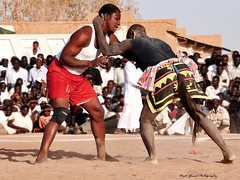 "Nubian Wrestling-SUDAN (Amit Ghosal ""The Clickings"") Tags: fight sudan culture traditions khartoum d90 nubianwrestling"