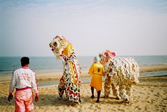 chinese dragons return to the sea  (an android's memoirs) Tags: new thailand happy lomo lca dragon cross year chinese lucky process lunar chaam