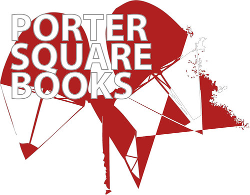 Porter Square Books faux logo design
