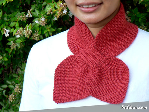 This Handknit Scarf Could Be Yours!