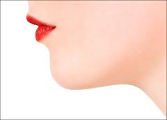 Kiss (Rod Monkey) Tags: uk red girl beautiful beauty face female scotland edinburgh feminine curves lips sensual lipstick abigfave aplusphoto bratanesque rodirvine samanthacrowe