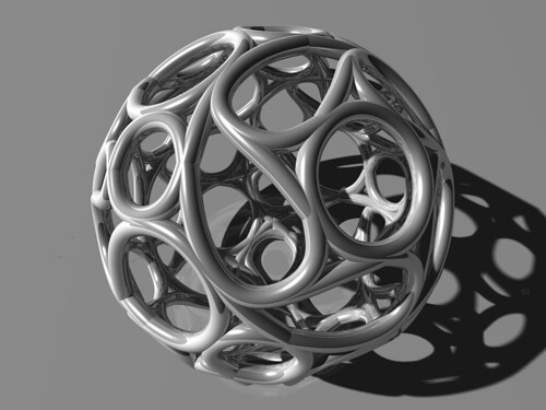 A coumpound of five hamiltonian circuits of a rhomb-icosi-dodecahedron with the same symmetry as the compound of five tetrahedra this time I blow up the record of the longest title