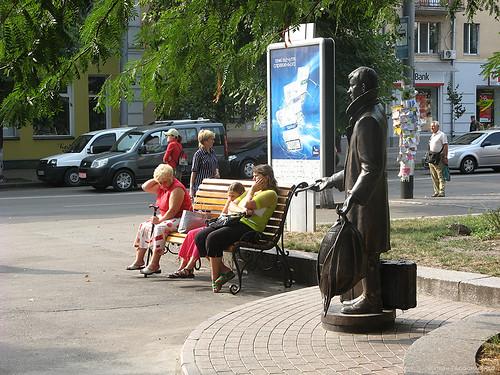 Житомир, памятник Лариосику