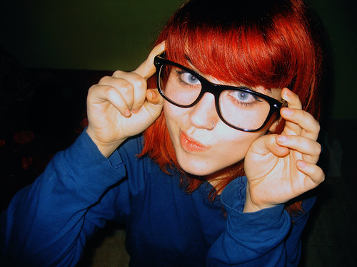 Hayley Williams / Gabe Saporta glasses by lovesick-melody.