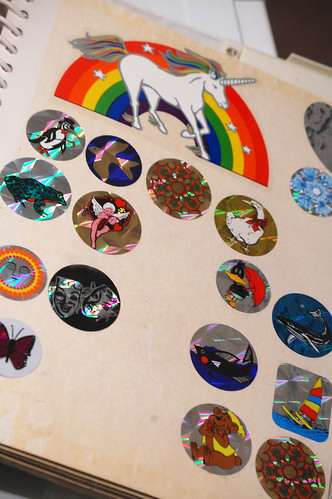 holographic stickers were the holy grail