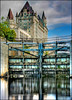 ~ Chateau & Locks ~ (ViaMoi) Tags: longexposure blue sky canada reflection water museum canon river photography searchthebest ottawa capital reflect locks rideau chateaulaurier bytown supershot 40d mywinners platinumphoto citrit viamoi goldstaraward 100commentgroup superstarthebest