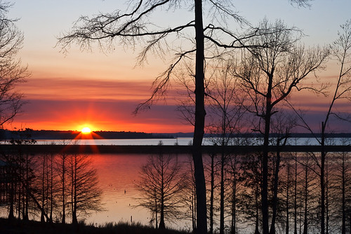 Sunset on Toledo Bend