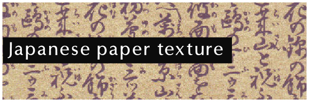 Japanese paper textures