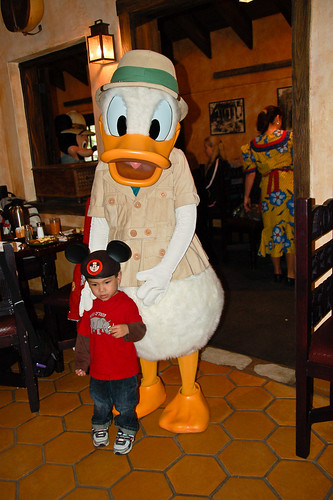 With Donald