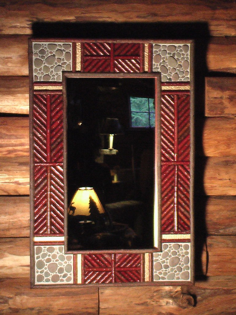 TROPHY LODGE: Hall Mirror