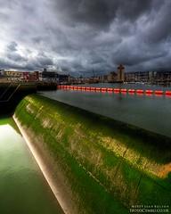 Weir(1) (Sean Bolton (no longer active)) Tags: green swansea wales marina cymru sa1 weir abertawe slipbridge pockettswharf seanbolton ffotocymrucouk trafalgarbridge ffotocymru nelsonsbridge