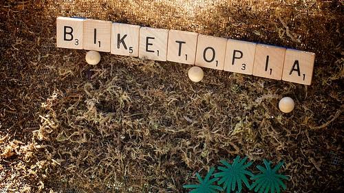 Biketopia, Urban Design Model