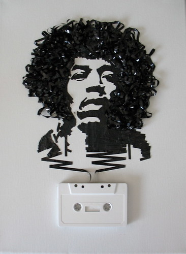 Ghost in the Machine: Jimi Hendrix por iri5.