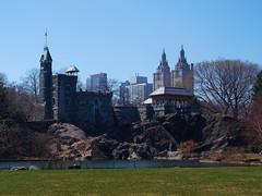 Mr. Belvedere (benwagar) Tags: new york city nyc centralpark belvederecastle mrbelvedere olympuse520