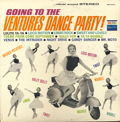 Ventures - Going To The Ventures Dance Party (Benjamin D. Hammond) Tags: vintage dance 60s guitar vinyl fender lp record 1960s instrumental ventures