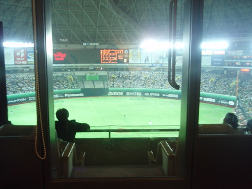 view from the box