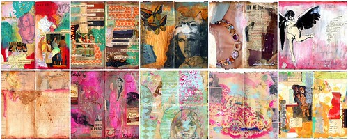 sparkleface inspiration - love her journals!