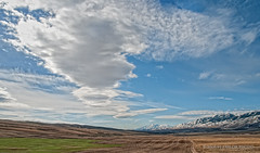 In Search of Spring (Von Taylor) Tags: sky mountain snow nature clouds utah nikon farm scenic idaho scenics wmp wheatfields d300 cachevalley blueribbonwinner anawesomeshot theunforgettablepictures theperfectphotographer absolutelystunningscapes overtheshot kunstplatzlinternational
