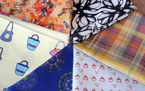 Contest fabrics - 4/17/2009