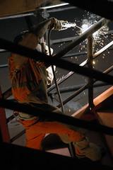 Soudeur (kimioo) Tags: d70 welder ouvrier soudeur