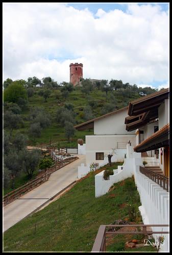 Torre Roja desde el Convento