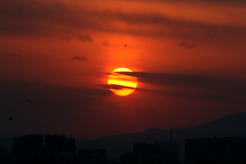 Beijing Sunset (by niklausberger)