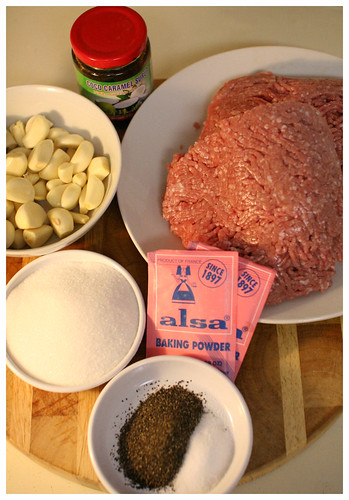 nem nuong ingredients