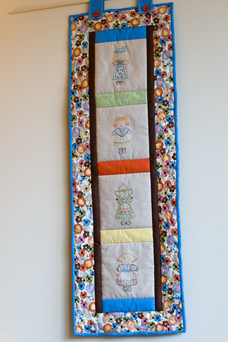 pretty little maids wall hanging