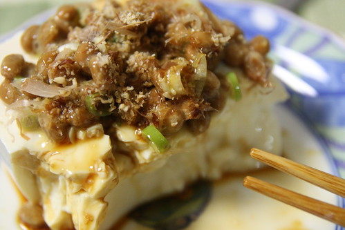 Tofu with Nattou