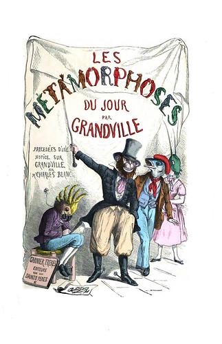 000-Les métamorphoses du jour (1869)-J.J Grandville
