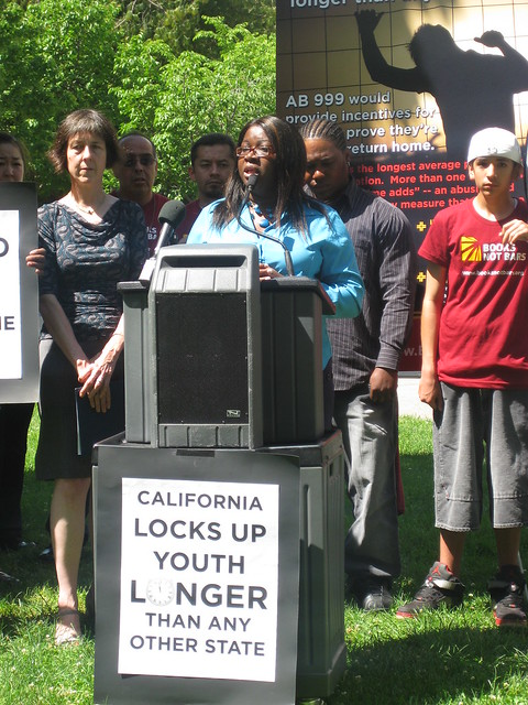 Books Not Bars Rally May 7 2009 by Ella Baker Center
