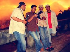 An'edited, Der Bek Geround is Real..Teras Mi (DELLipo™) Tags: travel sunset favorite malaysia dslr capture sabah finest kundasang fogs hdellr dellipo