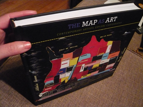 The Map As Art -book