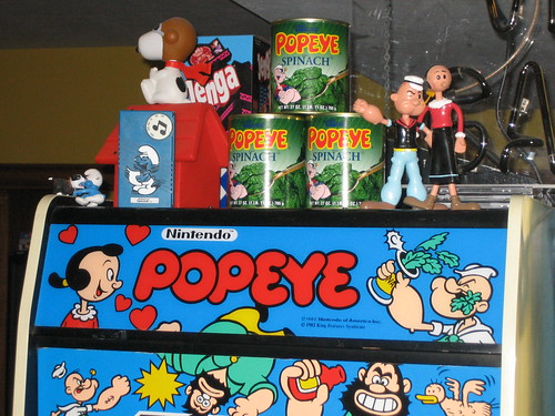 Popeye Spinach Topper