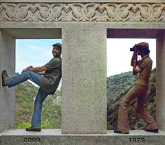 Now and Then (4Durt) Tags: catalinaisland 1979 2009 wrigleymemorial