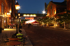 Toronto Distillery District (ChoudhrySaab) Tags: toronto night canon lights distillerydistrict district distillery loreal xsi urbanlife peopleschoice gooderham awesomeshot gooderhamworts worts beautifulshot torontodistillerydistrict flickrhearts agradephoto luminato brilliantphotography photographergonewild canonxsi flickrlovers artofimages top20travelpix