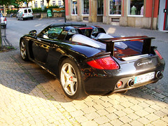 Porsche Carrera GT (_bianconero) Tags: street money black car monster speed silver grid photography nice nikon power stuttgart metallic rich bridgestone engine machine fast automotive racing tires cash porsche sound beast motor petrol teuer gt expensive grip rims limited needforspeed rennen michelin supercar schwarz lemans fuel spotting pfalz tailpipe exhaust furious kraft carrera speedway spoiler geld silber auspuff monocoque schnell automobil superlative 980 benzin felge endrohr acceleration benzine biest porschecarreragt strase baddürkheim d80 beschleunigung nikond80 612ps düw beschleunigen endpipe bianconero91