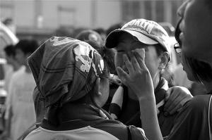 哭泣的绿城女球迷