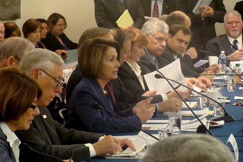 Speaker Pelosi at at Veterans and Military Organizations Roundtable