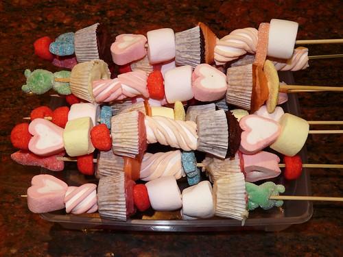 Mini Cupcake Kebobs