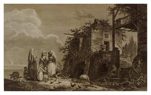 004- Habitantes de la isla de Lemnos-Voyage pittoresque de la Grèce 1782