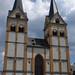 Florinskirche in Koblenz - Westseite