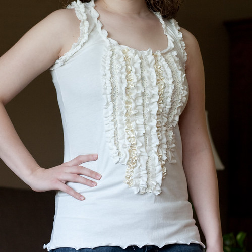 Wedding Cake Tank by Kate