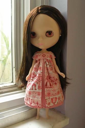 Hansa Dress for Blythe