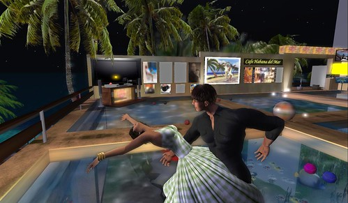 dancing salsa at la habana beach club
