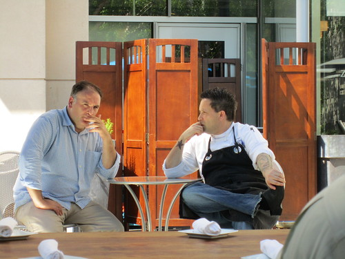 Jose Andres and Mike Isabella Spotted at Zaytinya
